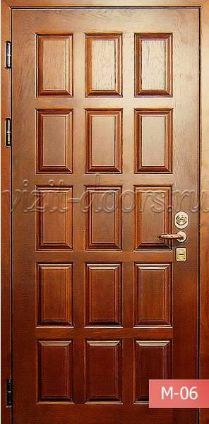 Деревянные межкомнатные двери из массива березы от